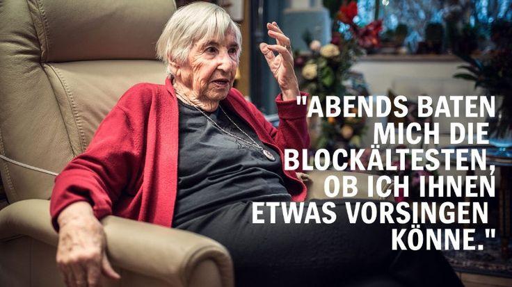 KZ Auschwitz: Holocaust-Überlebende berichten - Esther Bejarano - SPIEGEL ONLINE
