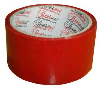 Renkli Koli Bandı - Kırmızı Renkli Bant