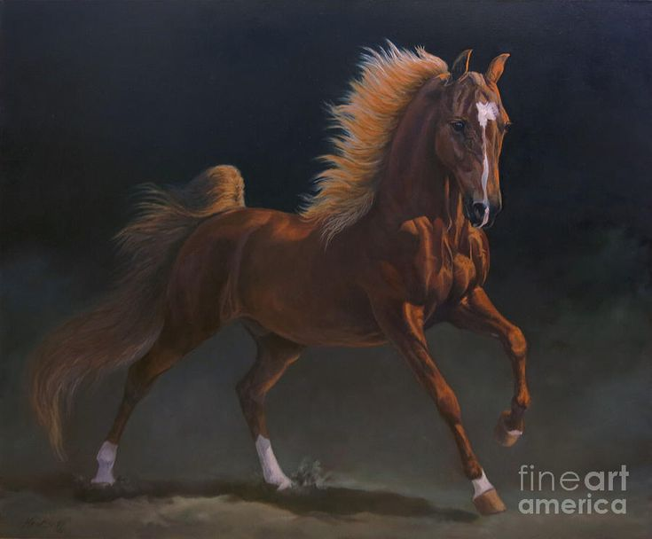 Wgc Marc Of Charm  Painting by Jeanne Newton Schoborg