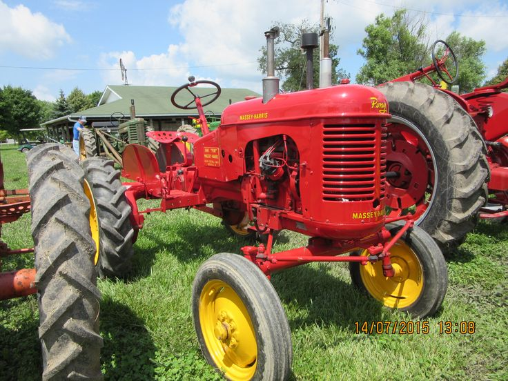 1952 Massey Harris Pony Tractor : Best images about massey harris on pinterest old