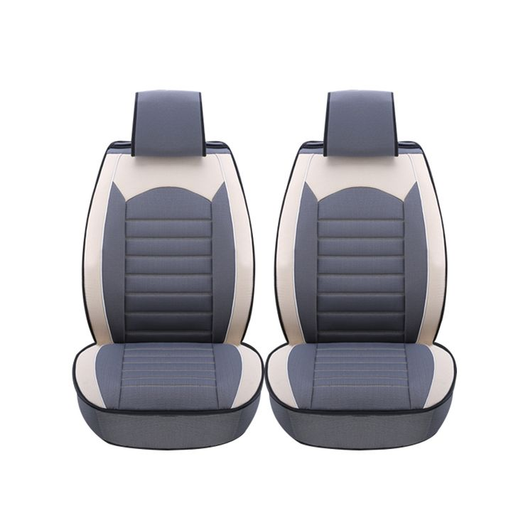 2 pcs Leather car seat covers For Dodge Caliber 2012-2008 Avenger Ram 2500 2015-2011 car accessories styling