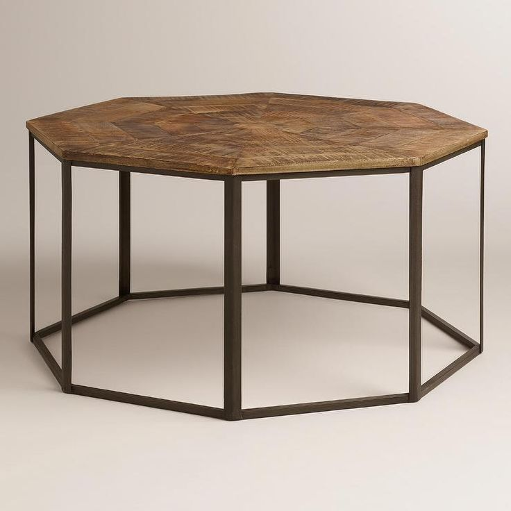 Gold Coffee Table World Market: Tables - Iliana Coffee Table