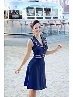 Emma Dress A-line, Blå