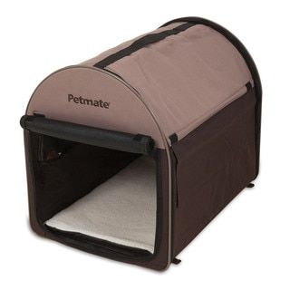Shop for Petmate Portable Dog Kennel and Pet Bed. Free Shipping on orders over $45 at Overstock.com - Your Online Crates