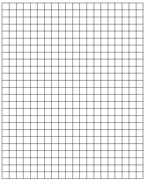 square paper print