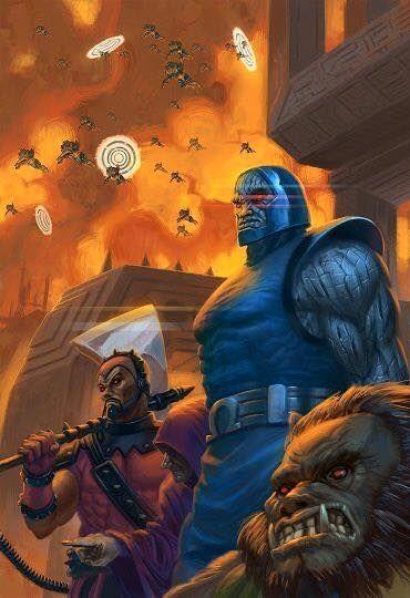 Darkseid, Steppenwulf & Kalibak