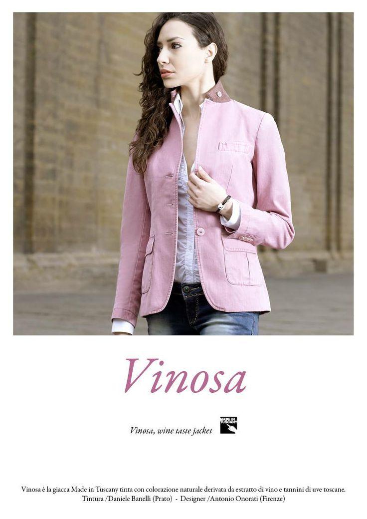 Vinosa, the jacket made in Tuscany