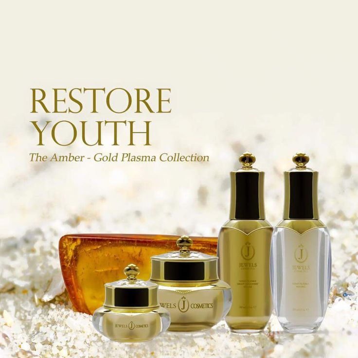 The Amber - Gold Plasma Collection #youth #beauty #skincare