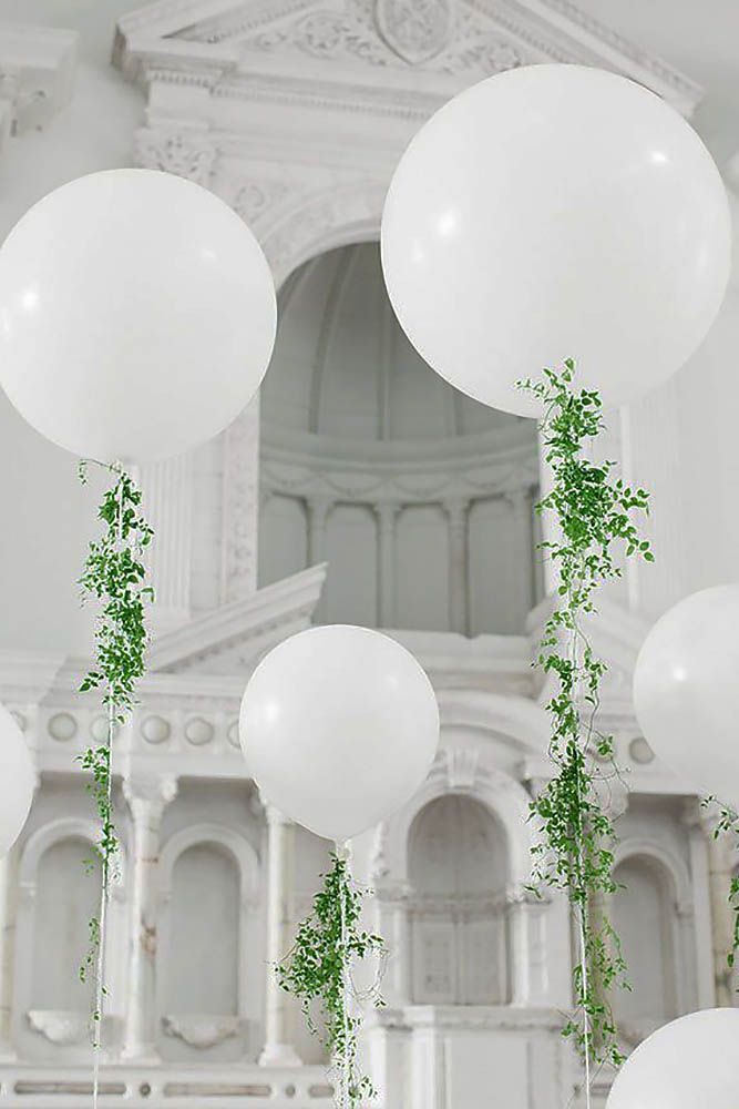 30 White Wedding Decoration Ideas ❤ See more: http://www.weddingforward.com/white-wedding-decoration-ideas/ #weddings #decoration