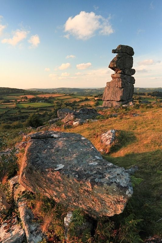 Bowerman's Nose, Dartmoor England