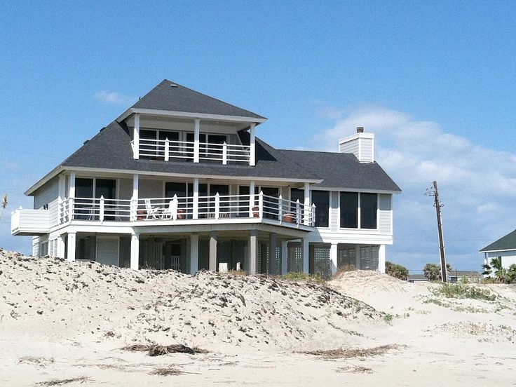 Galveston House Rental: Charming Texas Beachfront Home Located At Prestigious Indian Beach | HomeAway