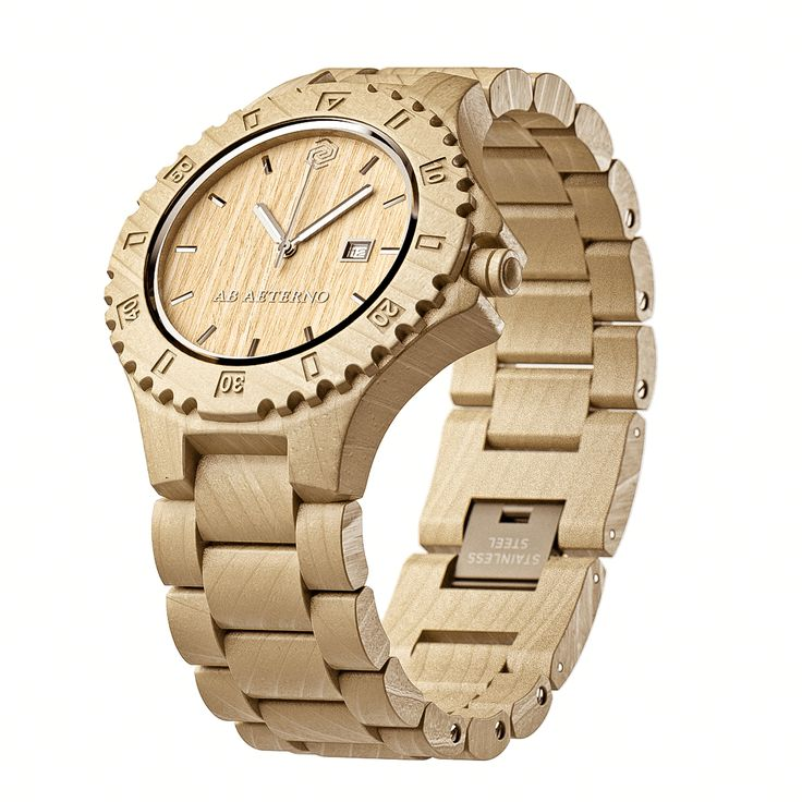 Orologi da polso in legno. La nuova frontiera della moda ecosostenibile.: Fashion Watches, Wooden Watches, Woodenwatches Innovation, Abs, Orologiodilegno Sandy, Fashion, Watches Orologiodilegno, Abaeterno Woodenwatches