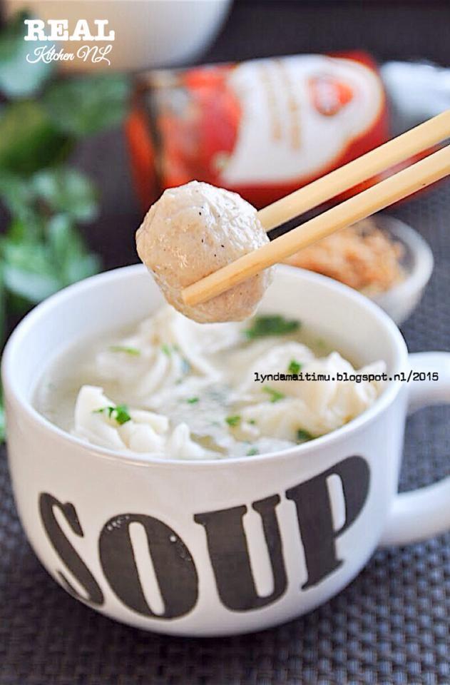Chicken Wanton Soup