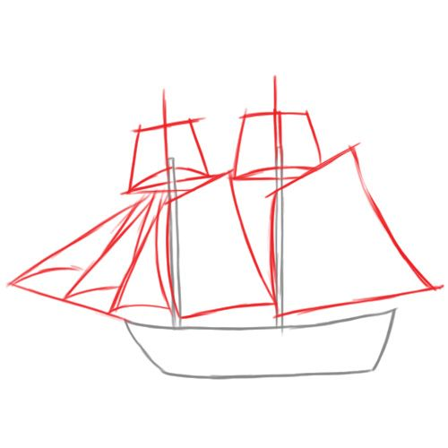 How to draw a pirate ship This one looks ok Tyler