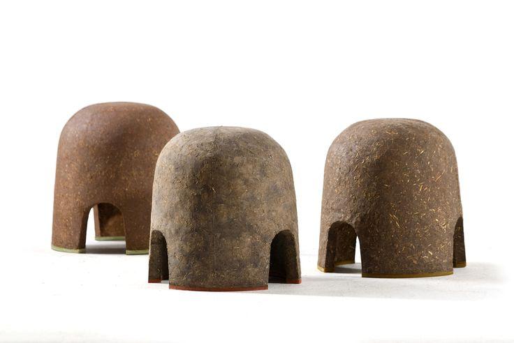 BIO Honourable Mentions Terra stools. Designer, producer: Adital Ela, 2012 (photo: designer's archive)