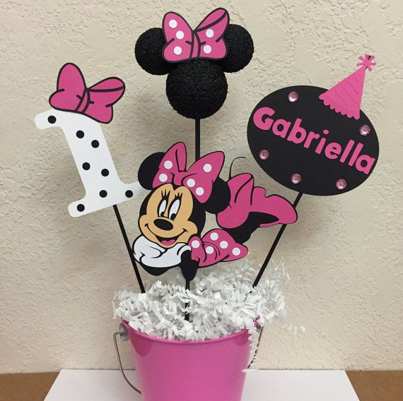 1086 best decoraci n con minie y mickey images on for Decoracion minnie mouse