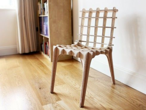 Sketch Chair, generative open source chair design tool