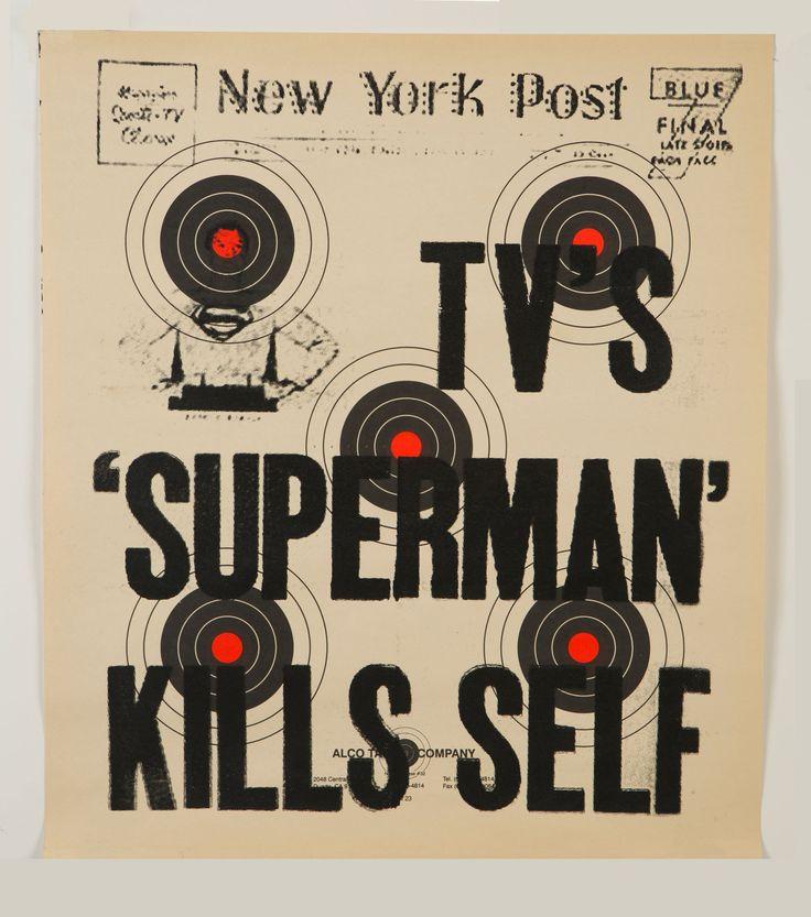 TV's Superman Kills Self