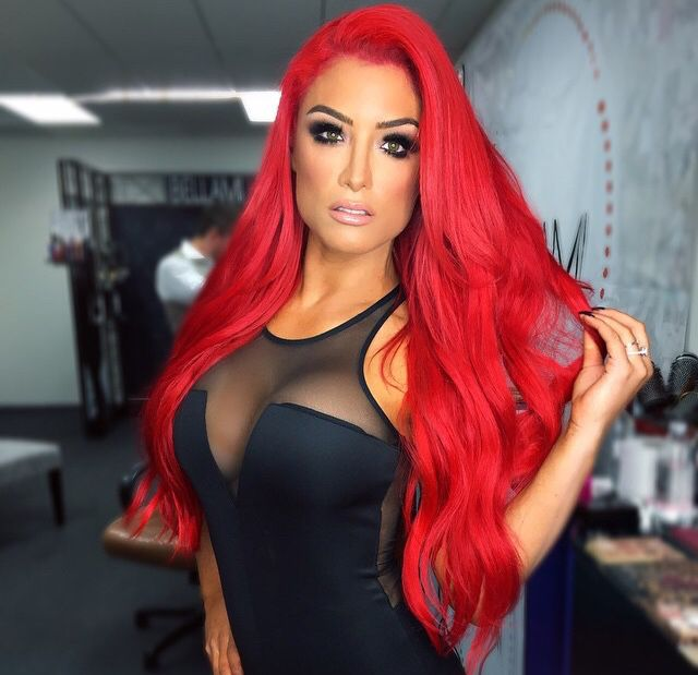 Holy hell. Why can't I be Eva Marie!