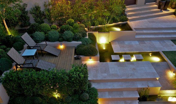 Prachtige moderne tuin!