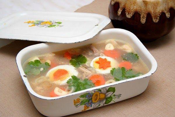 шеф-повар Одноклассники: Куриный холодец