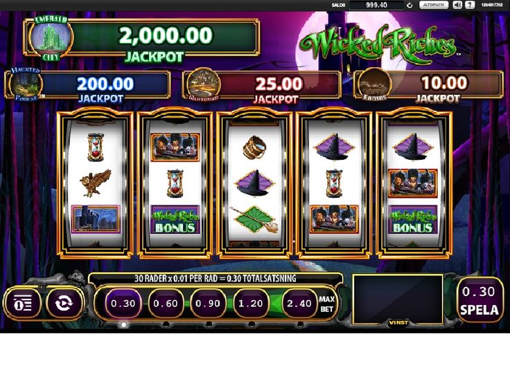 The Winnings of Oz Slot Machine