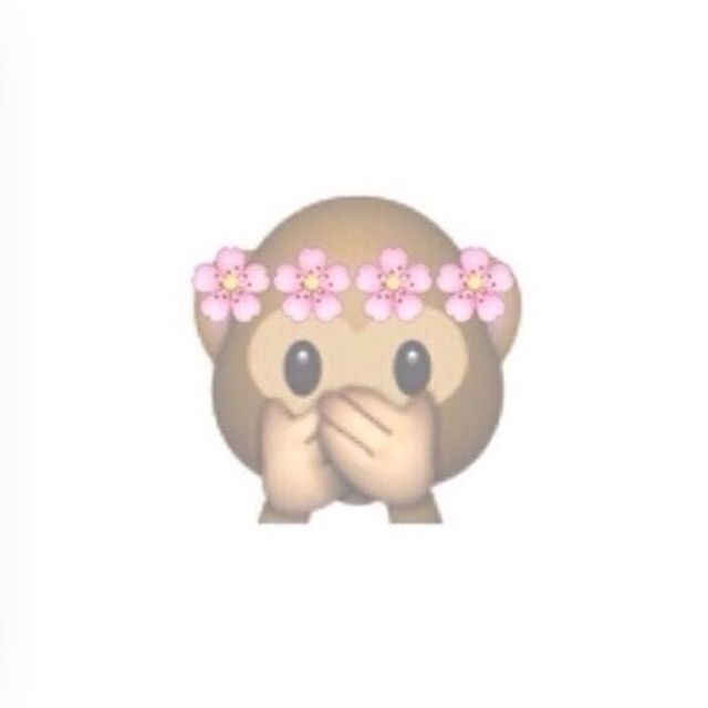 This little emoji I find really cute it's not a real one but someone made it up & I wish they did have it as a emoji love emojis ❤️comment below your faviroute emoji mine is I have loads my second 2 faviroutes r because r I have 2 secon faves they r so yeah commen your faviroutes, bye x
