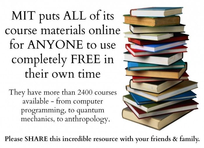 2,400 FREE Courses Homeschoolers Can Take