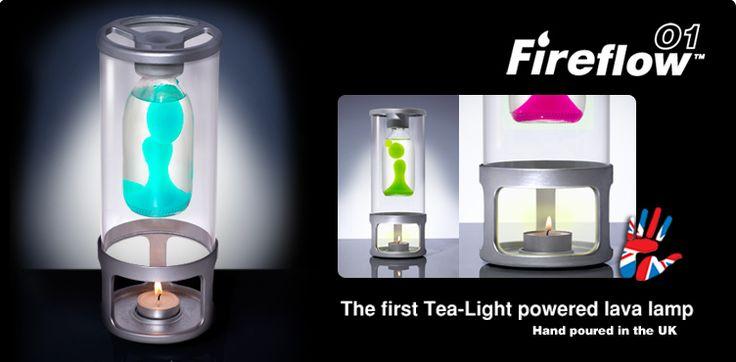 Fireflow O1 candle lava lamp