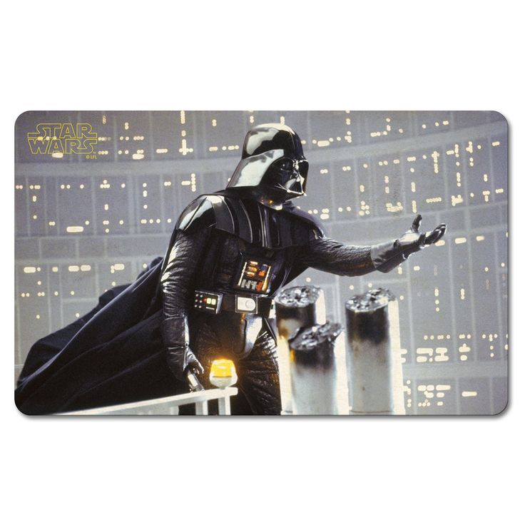 Star Wars Darth Vader I Am Your Father Breakfast Board.  Breakfast boards are so continental! They are very big in Germany (for children and adults alike) where they are traditionally used to serve breakfasts of cold meats, cheeses, preserves and bread. Whilst we may not share these breakfast habits, they serve as excellent cutting boards or serving platters to be used at any time of day.
