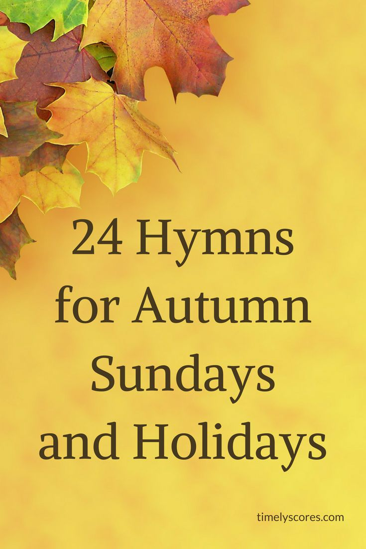Planning your Autumn 2017 church music? Check out this blog post featuring twenty-four instantly downloadable hymn arrangements at Sheet Music Plus perfect for Sundays and holidays in September, October, and November!
