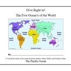 This is a basic unit focusing on the Oceans of the world including fun facts.  The standard only calls for students to locate the oceans, but the f...