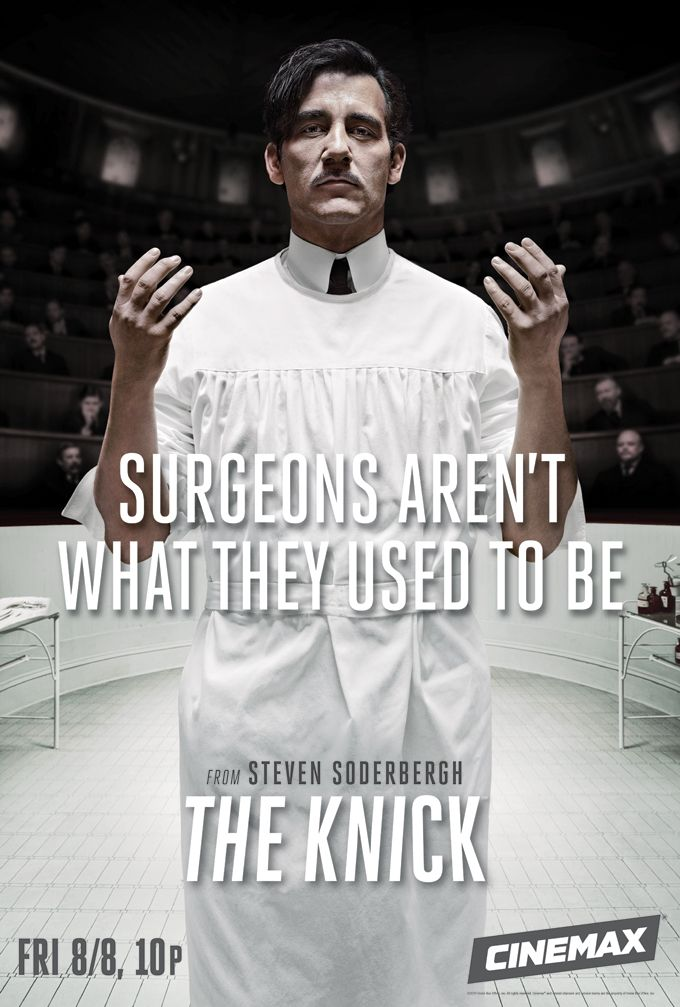 Clive Owen // Dr. John W. Thackery // The Knick
