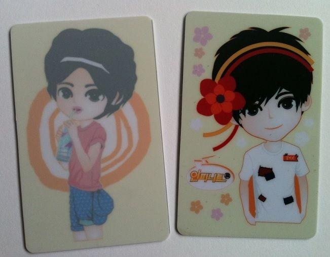 mika ID CARD || 1set: 10 pcs | Price: 110K IDR (12.5USD)