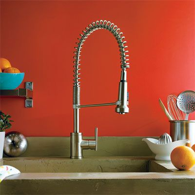 17 best images about s t o w kitchen on pinterest for Restaurant style kitchen faucet