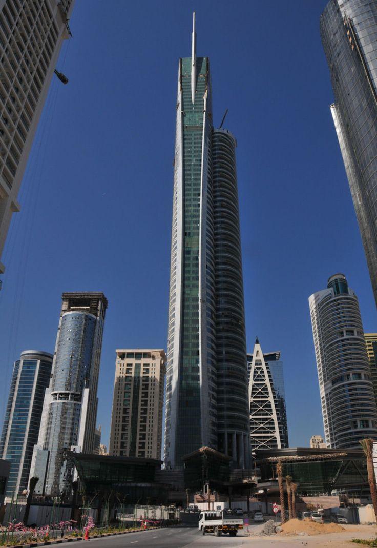 28. Almas Tower in Dubai, UAE 1191 ft