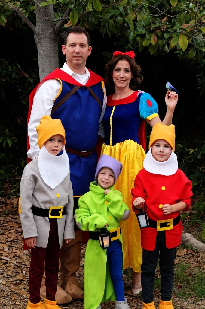1152 best costumeshalloween images on pinterest costume ideas diy do it yourself tutorial snow whites dwarfs and prince costumes great for family group theme disney costumes solutioingenieria Gallery