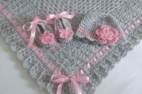 Couverture de bébé au crochet