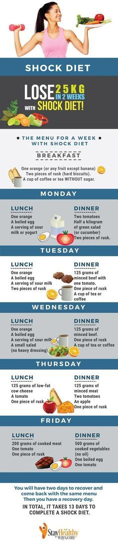 How to Lose 25 Pounds in 2 Weeks With the Incredible Shock Diet. If you want to shed the and get a toned body, you'll need to make sure you stay at a calorie deficit while exercising daily to build muscle. If you're still confused with how to lose weight  https://www.musclesaurus.com/bodybuilding/
