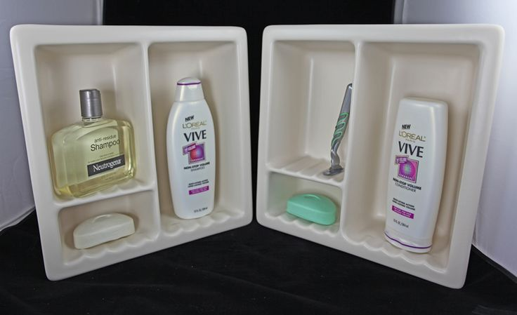 Recessed Shower Shampoo Shelf And Tile Niche Soap Dish