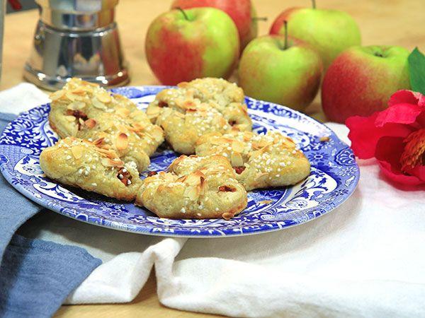Äppelknyten på hemgjord smördeg | Recept.nu