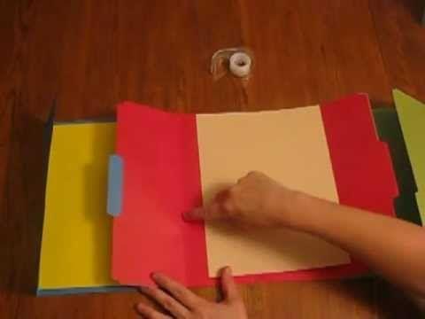 How to make a Tri-Folder Lapbook.mpg - YouTube https://www.youtube.com/watch?v=7qlys-dZzrI