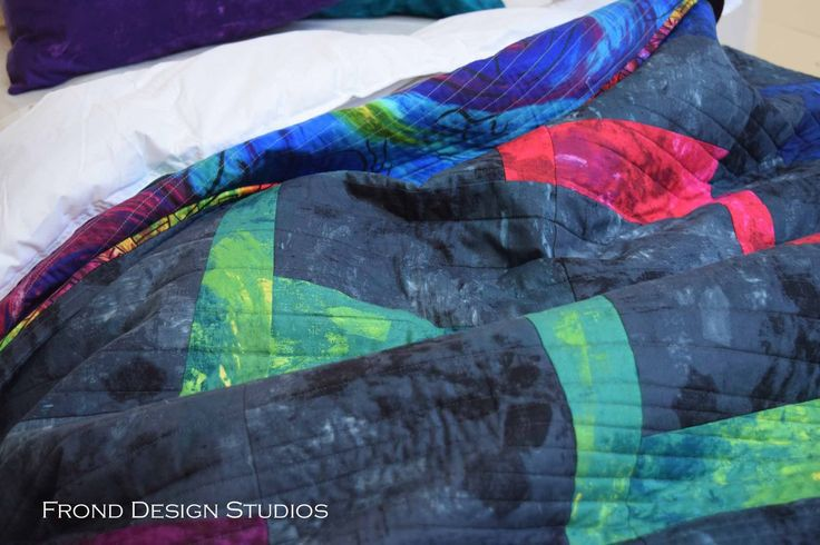 Shockwave Quilt in Modern Muse - Delve MIY