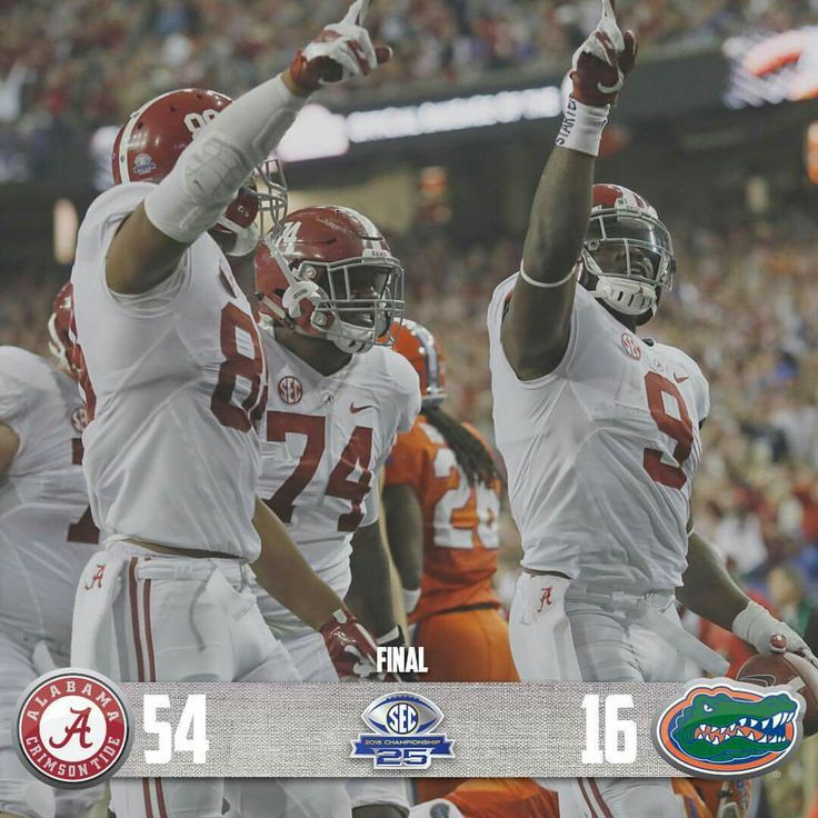 Alabama vs Florida 2016 SEC Championship Game