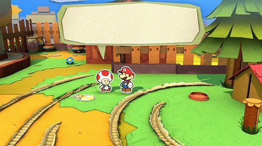 "unclenicky: "" ""Paper Mario: Color Splash (2016) "" """