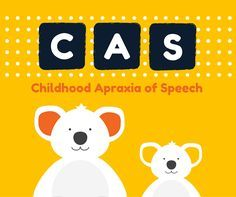 What is Childhood Apraxia of Speech? Childhood Apraxia of Speech (or CAS as we refer to it as), is a type of speech disorder that occurs in children, although it is rather uncommon.  It is different than other speech disorders because it is neurologically-based, meaning it has to do with