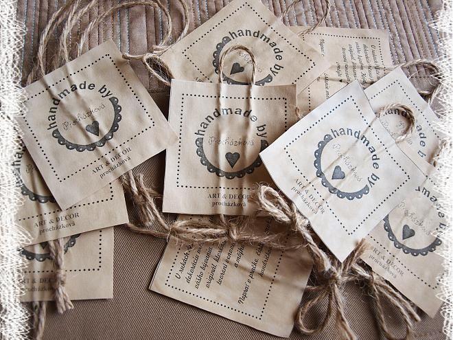 Návod na výrobu papierovej reklamnej visačky, resp. výrobného štítka farbeného čajom / prochazkov » SAShE.sk - slovenský handmade dizajn