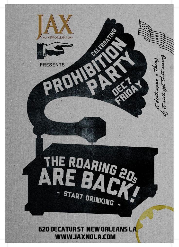 PROHIBITION PARTY | Prohibition Party | Pinterest | Prohibition ...