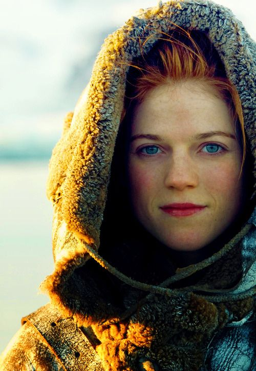 "She's really great onscreen. But she's also great just being herself. Rose Leslie From ""Game Of Thrones"""