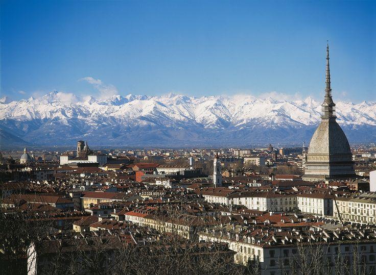 Skyline of Torino e Mole Antonelliana